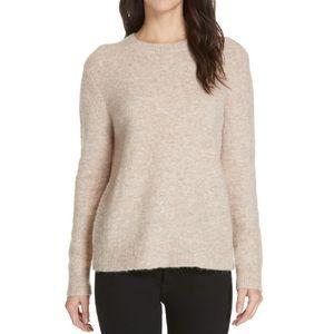 Banana Republic Wool Alpaca Boucle Crew Sweater XS